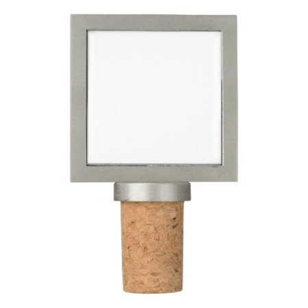 Wine Stopper Pewter Frame With Cork