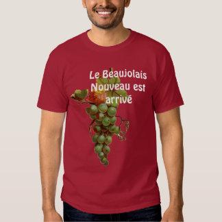 Wine T shirt Beaujolais Nouveau est arrive