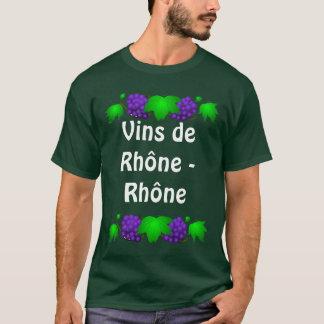Wine  T shirt - Vin de Rhône - Rhône