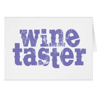 Wine Taster Cards