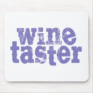 Wine Taster Mouse Pad