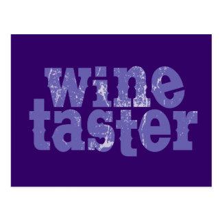 Wine Taster Post Card