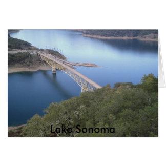 Wine tasting!033, Lake Sonoma Greeting Card