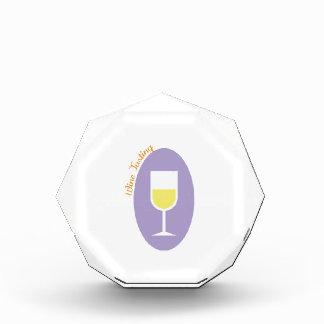 Wine Tasting Acrylic Award