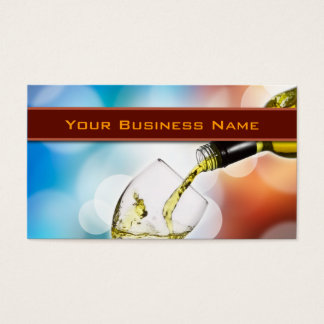 Wine Tasting Business Card