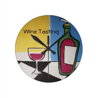 Wine Tasting Clock
