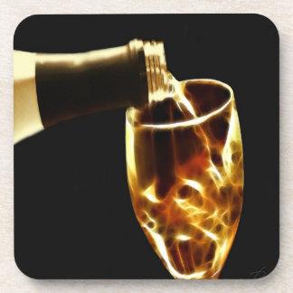 Wine tasting coaster