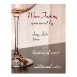 "Wine Tasting Flyer 8.5"" X 11"" Flyer"