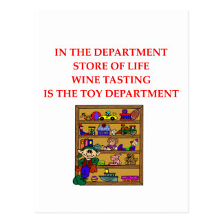 WINE tasting gifts Post Cards