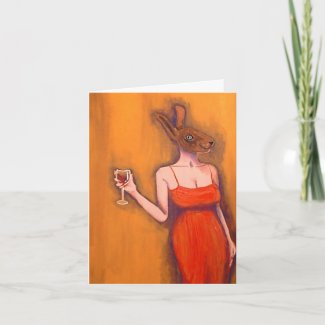 wine tasting invite card