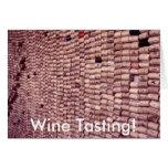 Wine Tasting! Note Card