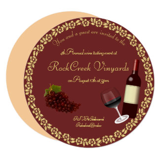 Wine Tasting Party Event Invitation