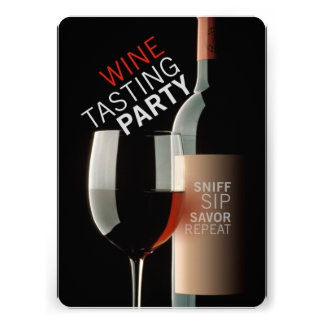 WINE TASTING PARTY CARDS