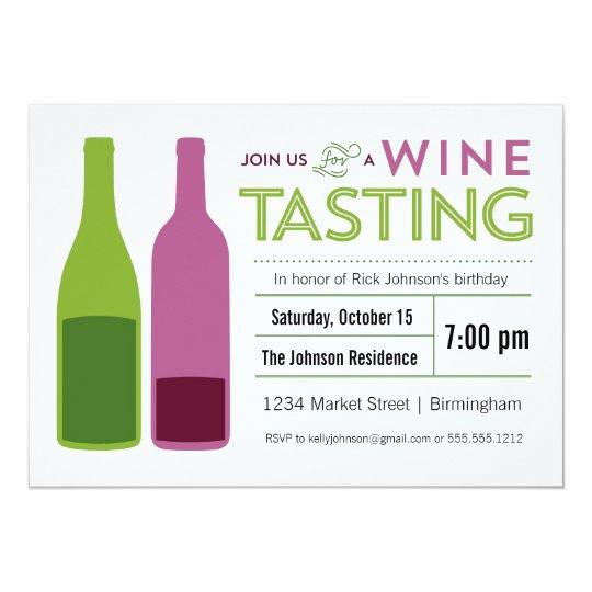 wine tasting party invitation zazzle com