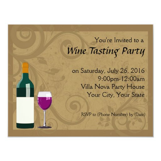 Wine Party Invitations could be nice ideas for your invitation template