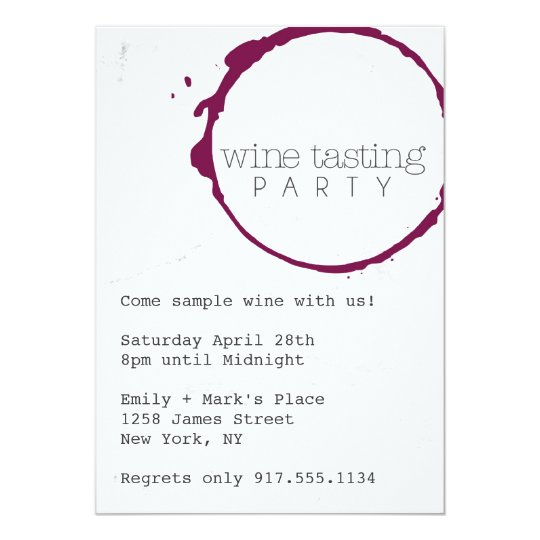 Wine tasting party invite zazzle wine tasting party invite stopboris Gallery