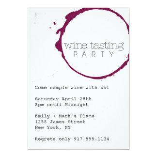 Wine Tasting Party Invite