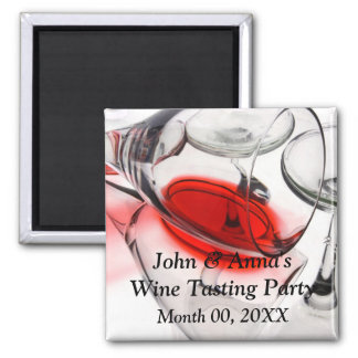 Wine Tasting Party Refrigerator Magnet