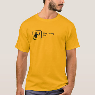 Wine Tasting Pro (small logo) T-Shirt