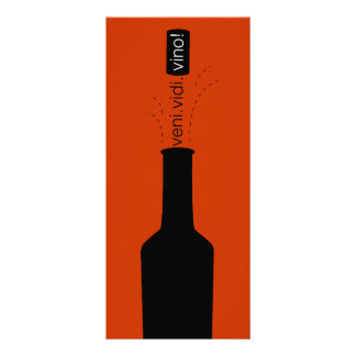 Wine Tasting Scorecard Rack Card