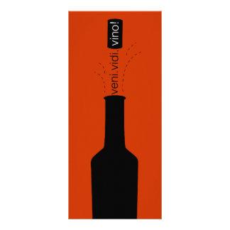 Wine Tasting Scorecard Full Color Rack Card