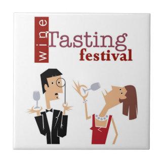 Wine Tasting Tile Trivet