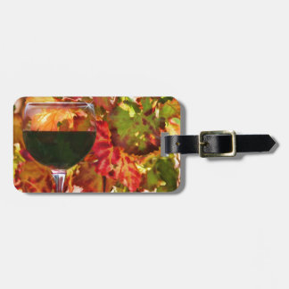 Wine Theme Gifts Bag Tag