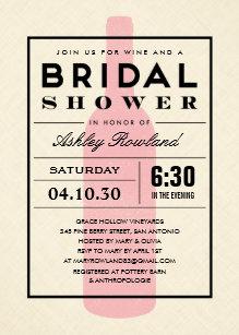 Wine themed bridal shower invitations zazzle wine themed bridal shower invitations filmwisefo