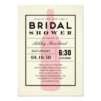 Unique invites designs collections on zazzle wine themed bridal shower invitations filmwisefo