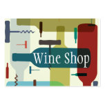 Wine themed business card