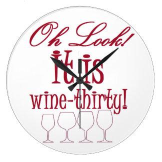 wine-thirty clock