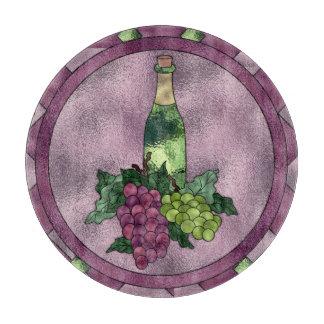 Wine Time Cutting Board