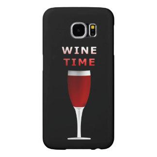 Wine Time Samsung Galaxy S6 Case