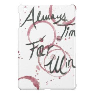 Wine Time Towel iPad Mini Cover