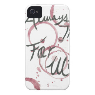 Wine Time Towel iPhone 4 Case-Mate Case