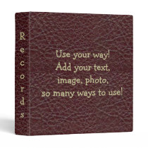 Wine Tool Leather Print Notebook Avery Binder