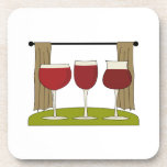 Wine Trio Drink Coaster