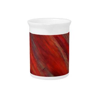 Wine under the microscope - Cabernet Sauvignon Beverage Pitcher