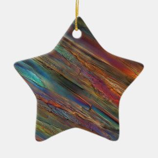 Wine under the microscope - Pinot grigio Christmas Ornaments