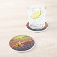 Wine Vineyard Coaster