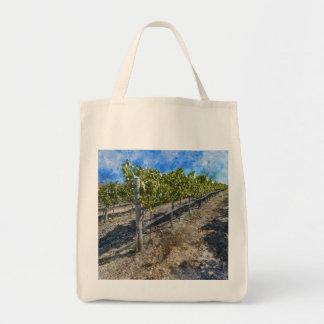 Wine Vineyard in Napa Valley Tote Bag