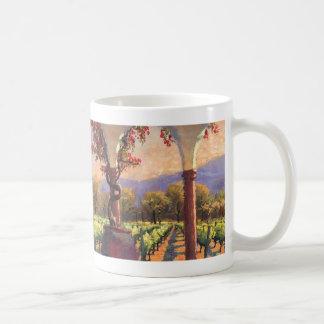 Wine Vineyard mug
