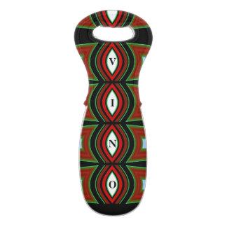 Wine/Vino Tote Bag 4 Anyone on Red,Black,Green
