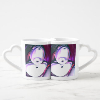 Wine Visions Abstract Coffee Mug Set