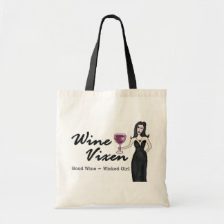 Wine Vixen Shopping Bag