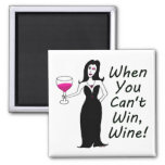 Wine Vixen Simply Wicked When You Can't Win, Wine Magnets