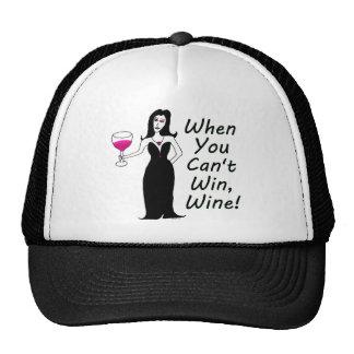 Wine Vixen Simply Wicked When You Can't Win, Wine Trucker Hat