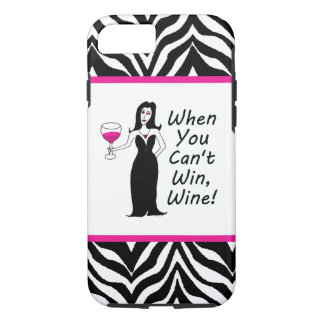 Wine Vixen When You Can't Win, Wine iPhone 8/7 Case