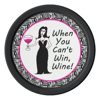 Wine Vixen When You Can't Win, Wine Poker Chips