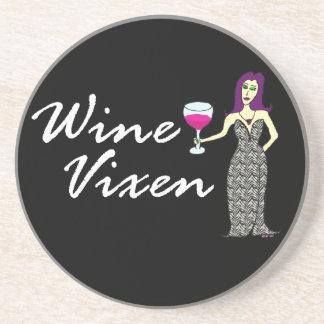Wine Vixen Wickedly Dark Coaster